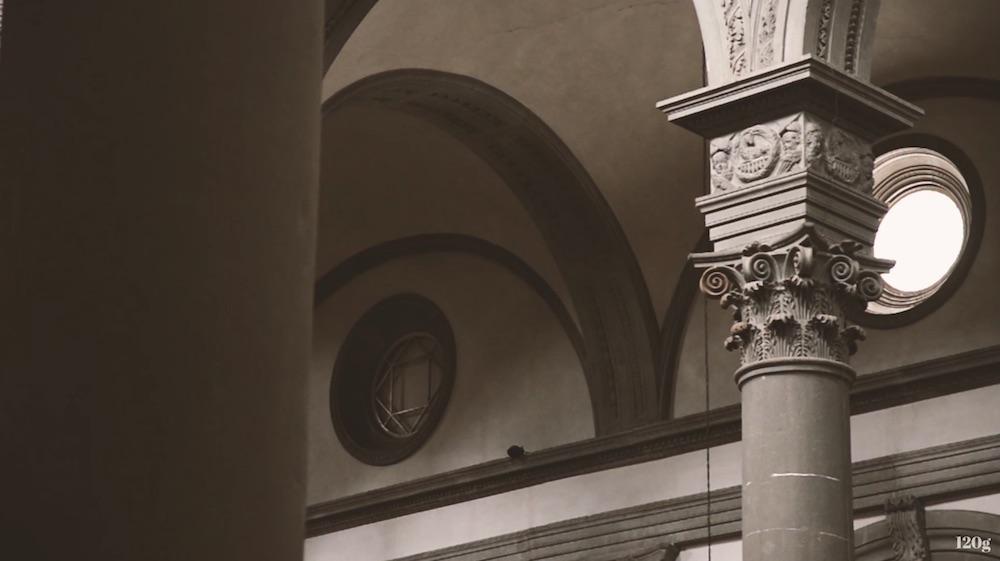 Ornate details meet clean lines