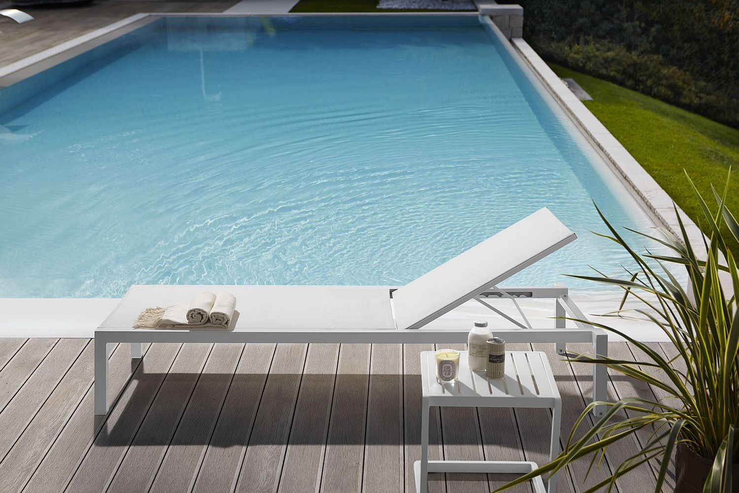 Relaxing lounger from the Samba Rio Collection