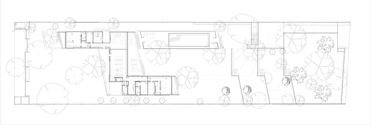SIte plan of Z House in Israel