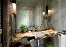 Slab-of-wood-turned-into-a-stunning-vanity-217x155