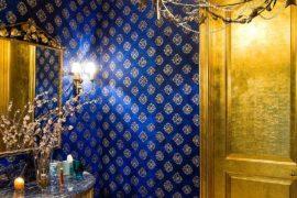 Hot Trends: Best Mediterranean Style Powder Rooms with Modern Overtones