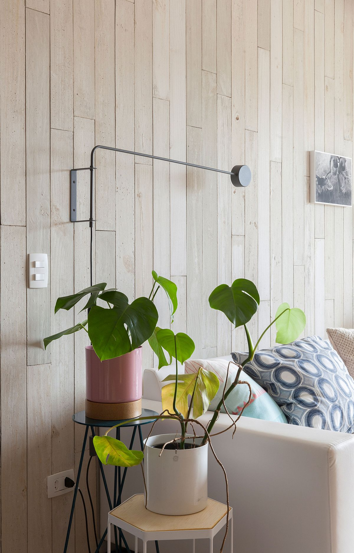 Stylish hexagonal side tables and plant stands for the modern living space