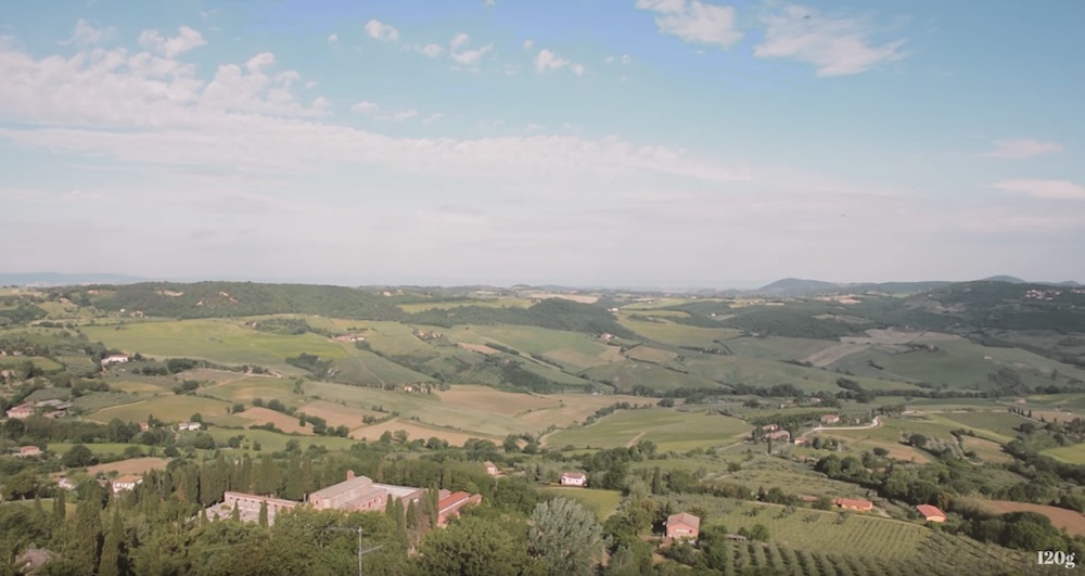 The beauty of the Tuscan landscape