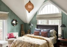 Wallpapered-walls-give-the-bedroom-a-polished-modern-appeal-217x155