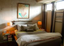 Windows-bring-the-right-amount-of-light-into-the-bedroom-with-concrete-walls-217x155