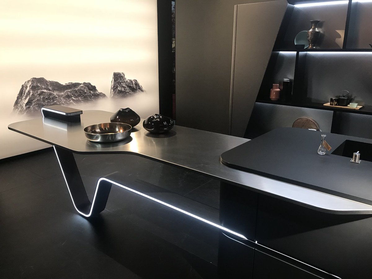 Amazing and exclusive new kitchens from Snaidero at Salone del Mobile 2018