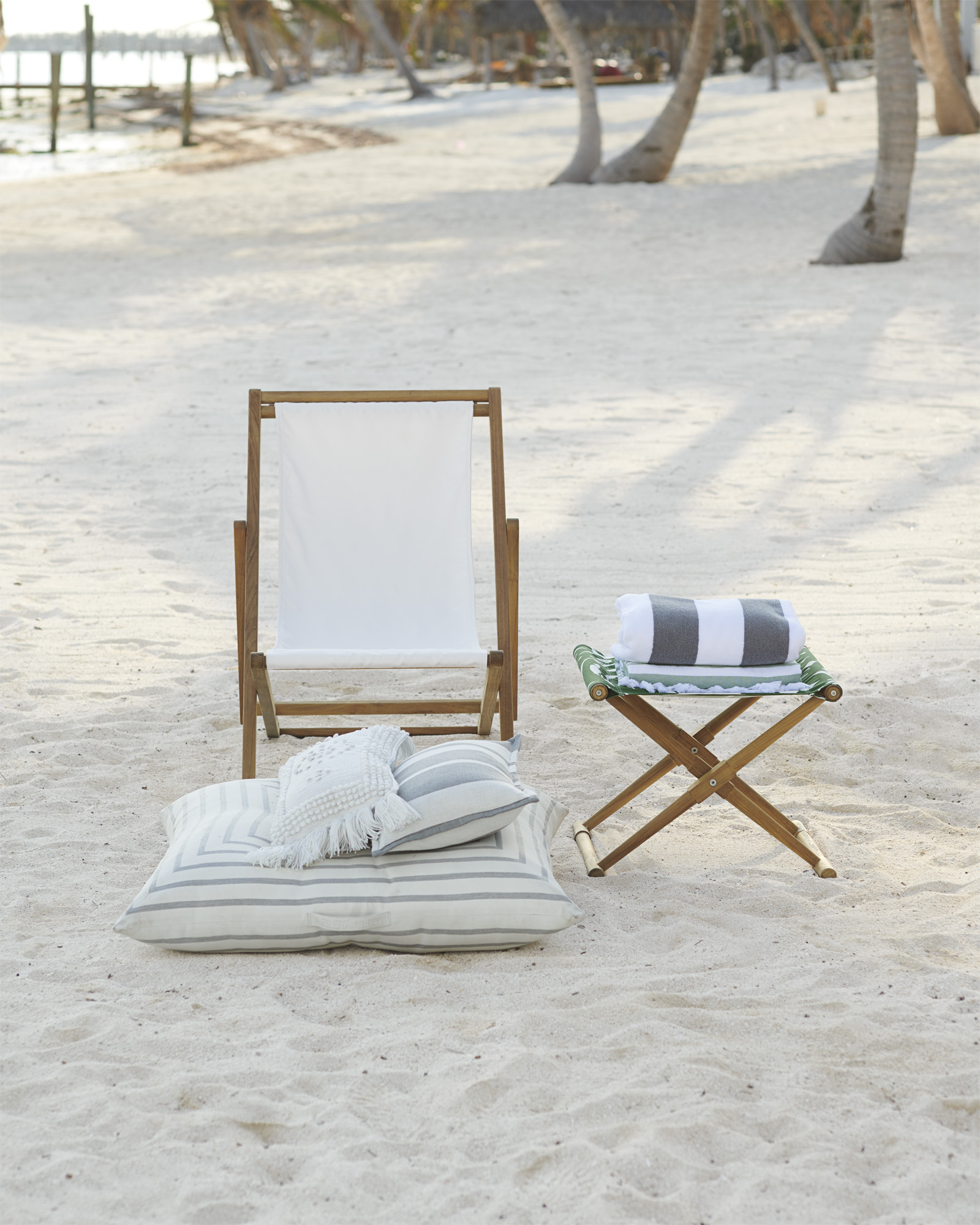 Breezy sling chair from Serena & Lily