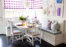 Brilliant-pops-of-purple-and-violet-enliven-the-small-dining-area-217x155