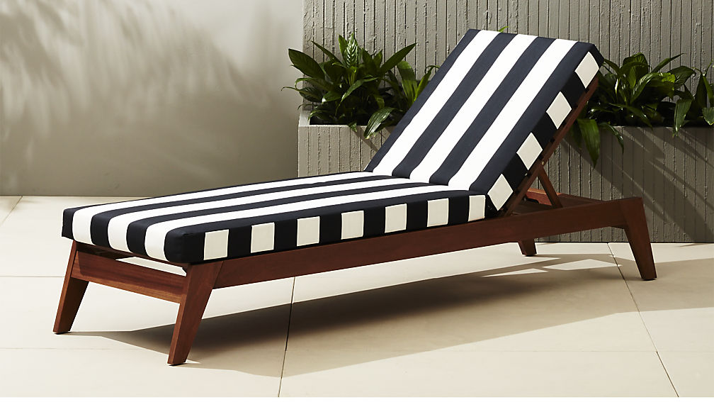 Cabana-style seating from CB2