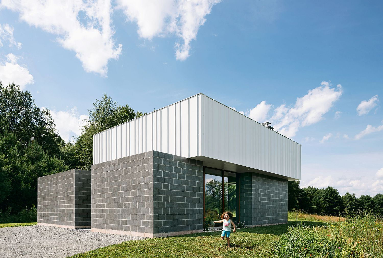 Contemporary family holiday home in the Catskills