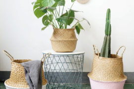 Design Trend: Seagrass Belly Baskets