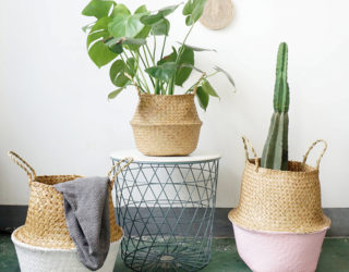 16 Seagrass Belly Baskets From Modern To Boho Chic