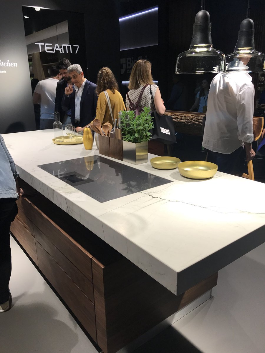 Eco-friendly and modern kitchens at iSaloni from TEAM 7