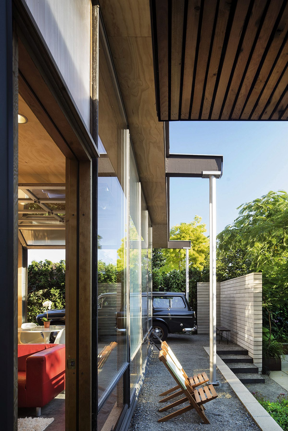 Ingenious design of the revamped home maximizes space