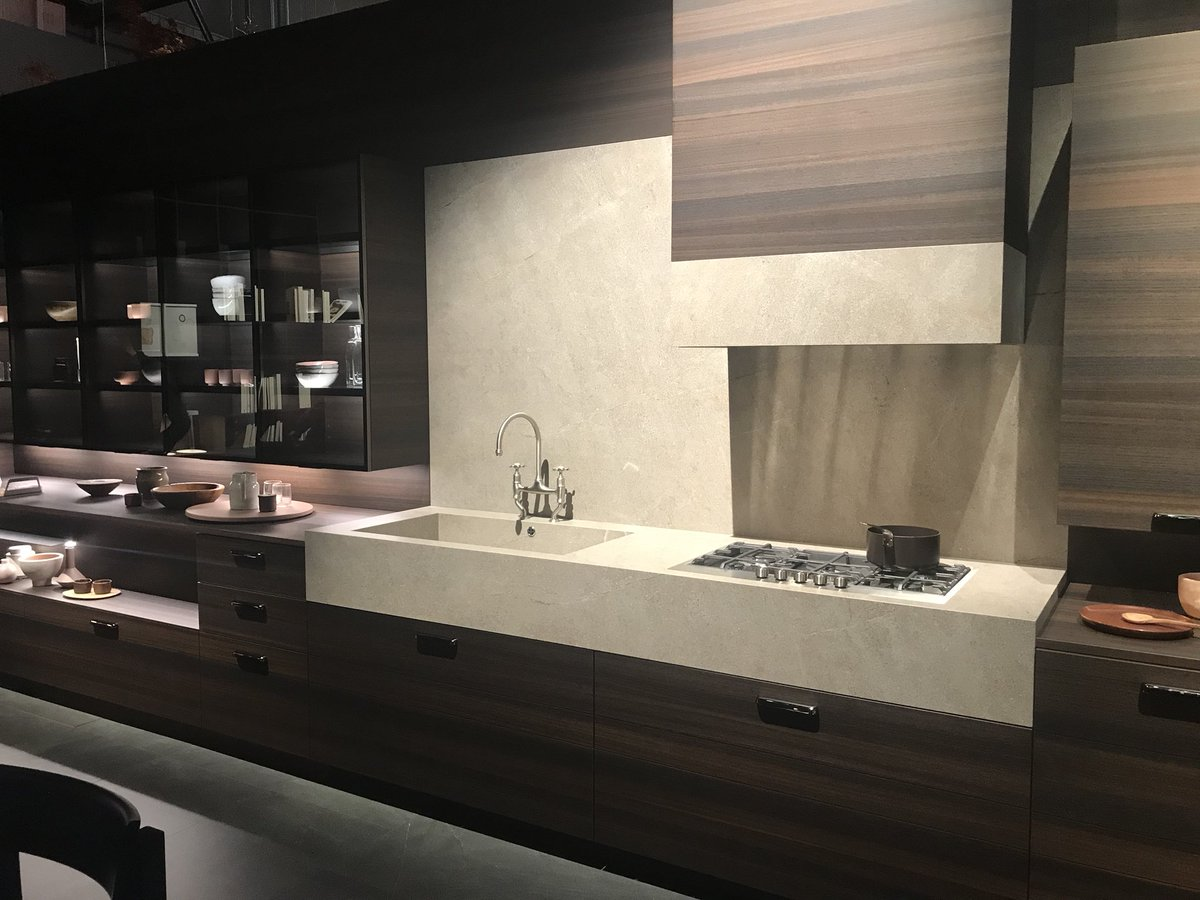 Innovative new kitchens with dark finishes from Cesar