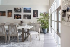 16 Dining Rooms with Delightful and Diverse Gallery Walls