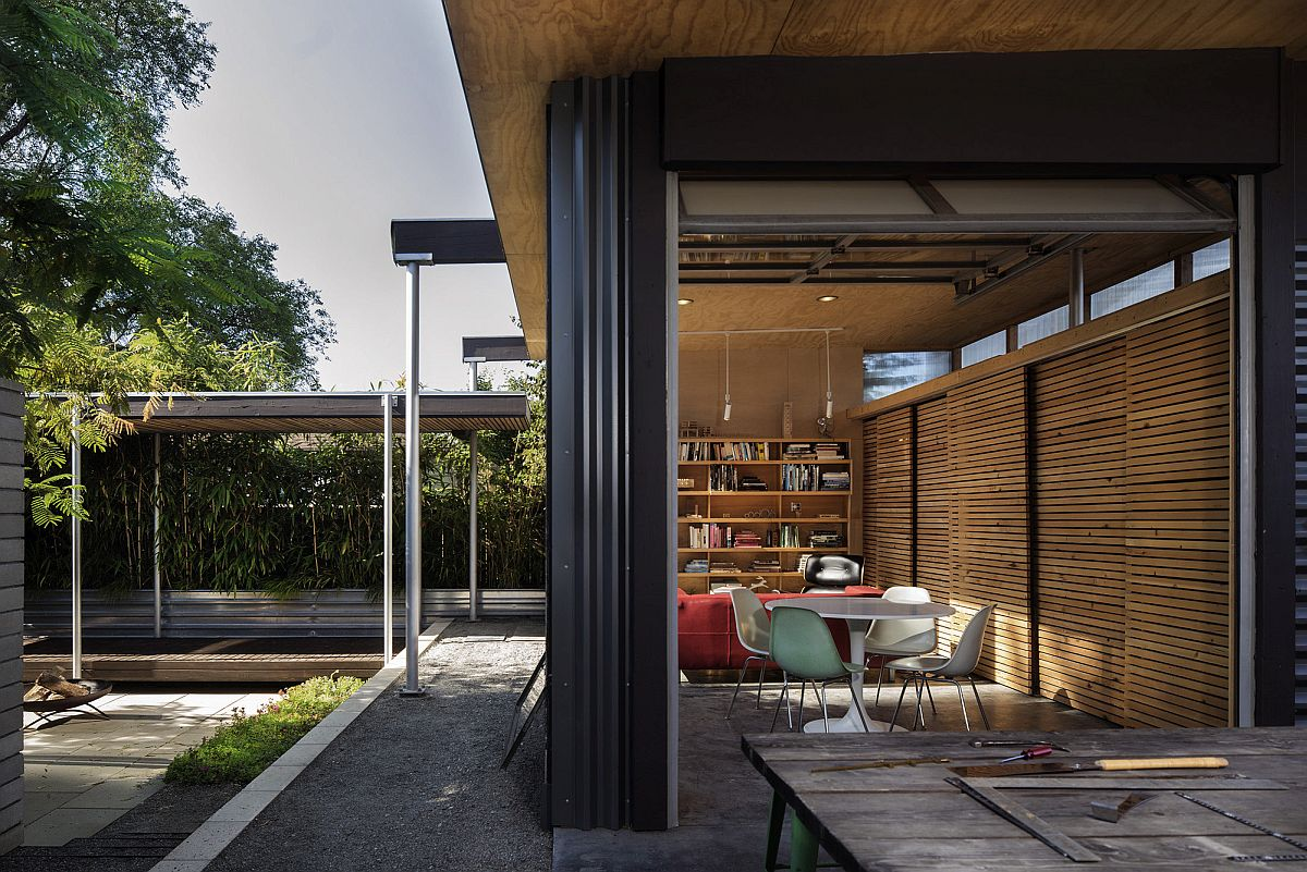 Look inside the Grasshopper Studio and Courtyard