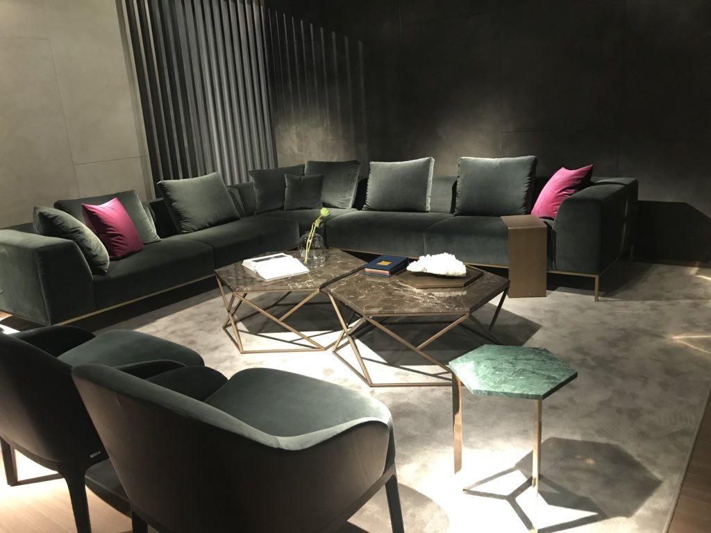 Luxury living furniture for world-class interiors from MARELLI