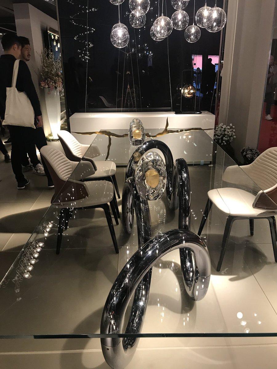 Metallics bring dazzle to the decor from REFLEX