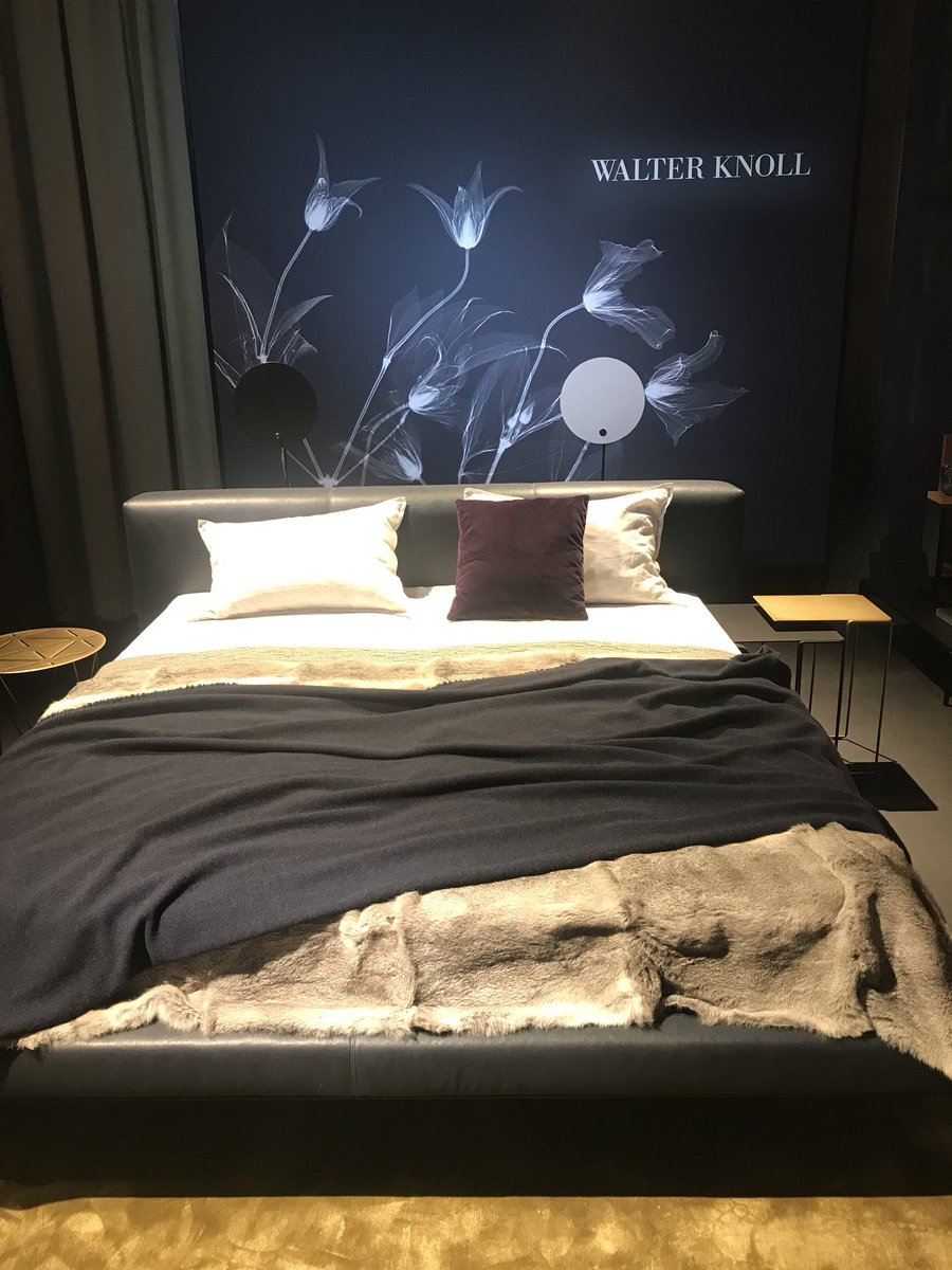 Modern and comfortable bedroom furniture from Walter Knoll