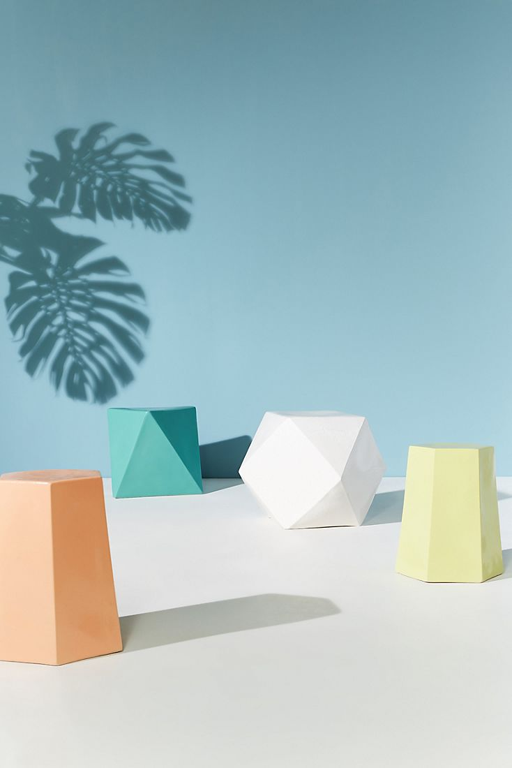 Modern outdoor tables from Anthropologie