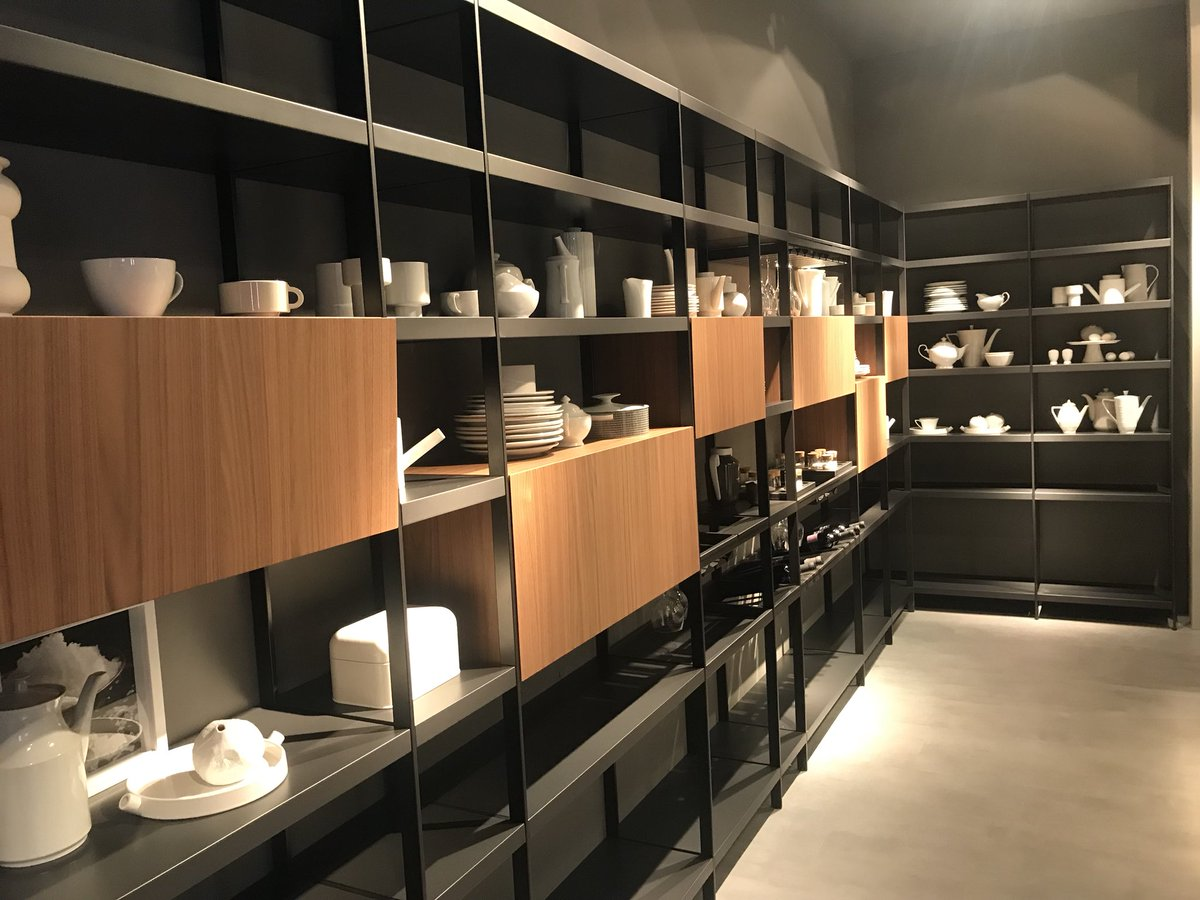 Modular shelving for the contemporary kitchen