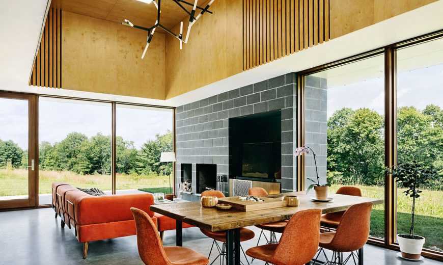 An Outpost to Explore the Wild Catskills: Contemporary Family Holiday Home