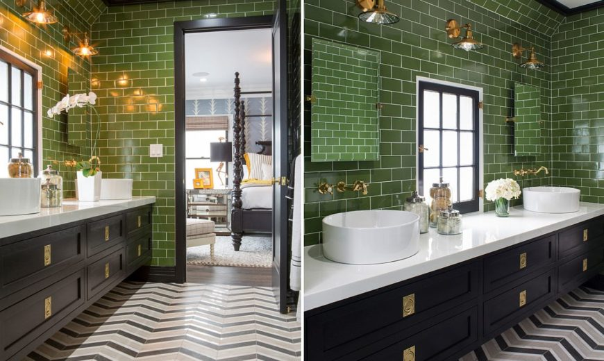 Top Bathroom Color Trends of the Season: Refreshing, Natural and Polished