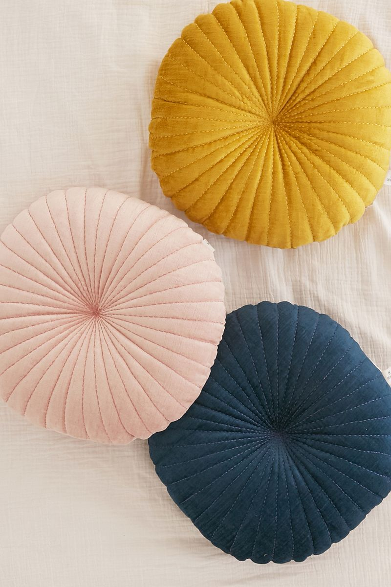 Shell round cushions from Urban Outfitters