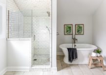 Simple-pops-of-green-shine-through-in-the-beach-style-bathroom-in-white-217x155