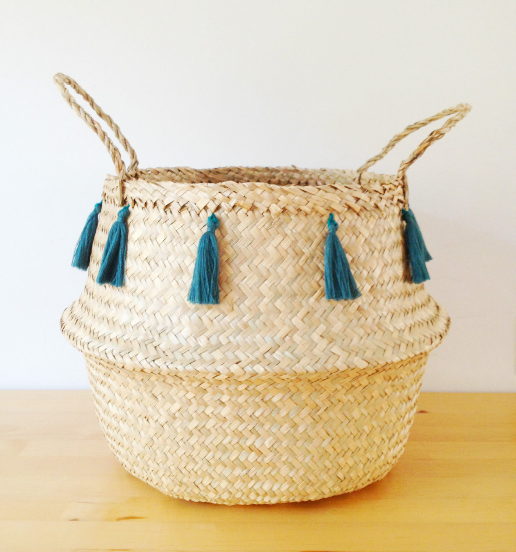 Design Trend: Seagrass Belly Baskets