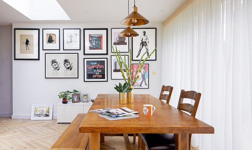 16 Gallery Walls That Bring Life To Their Dining Rooms