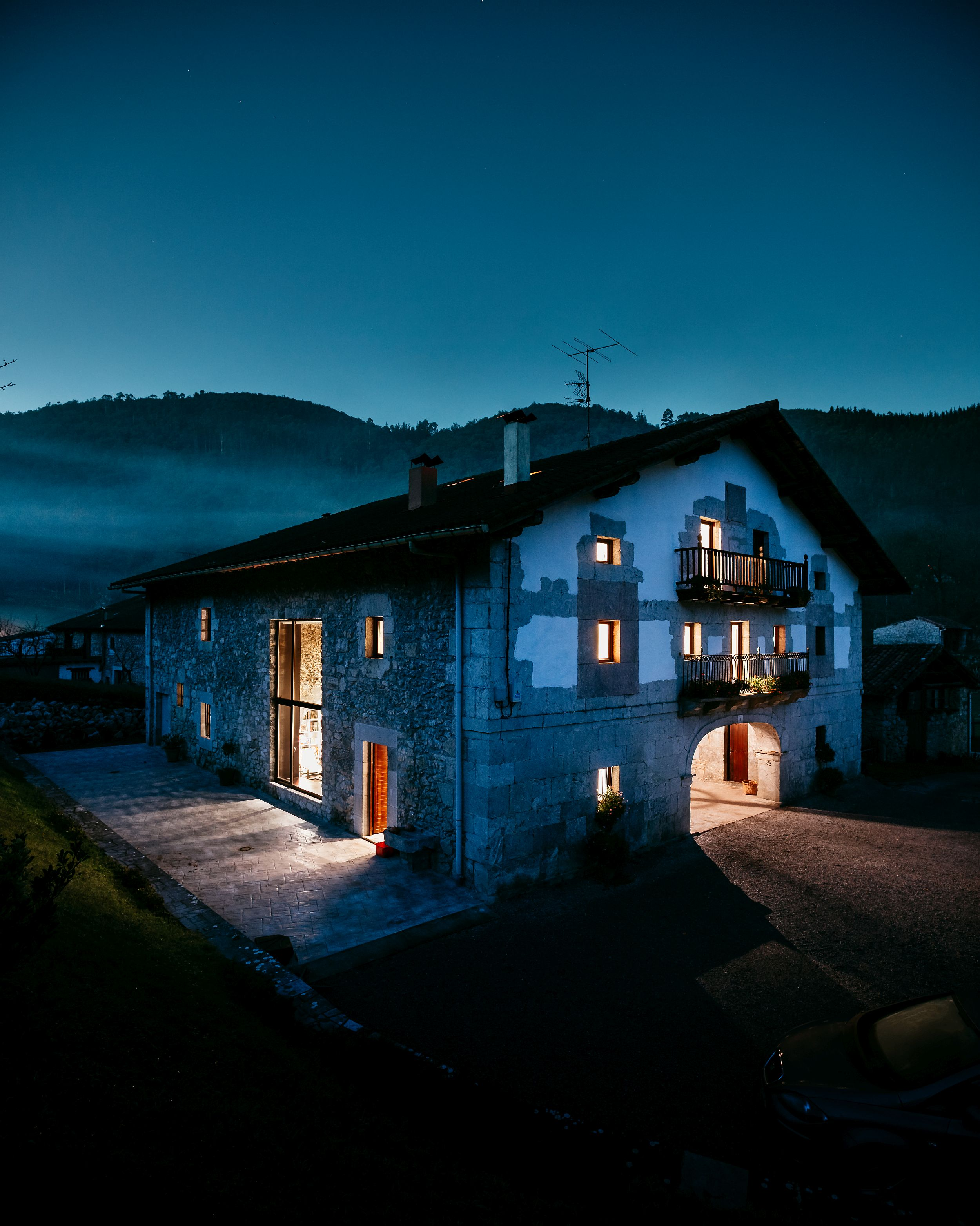 150-year old traditional Basque house in Spain turned into modern family home