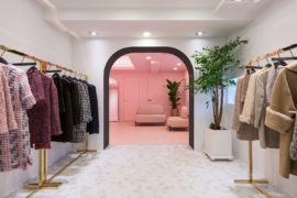 This Urbane and Eye-Catching High-End Showroom is Color-Coded!