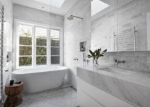 All-gray-bathroom-with-stunning-use-of-stone-217x155