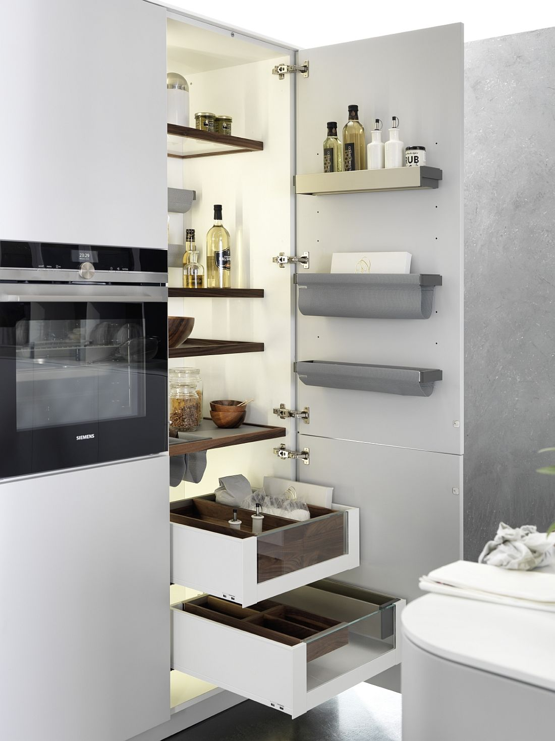 Amazing kitchen storage solutions with space-savvy design