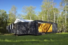 Adaptable Weekend Getaway Filled with Wood and Wonder!