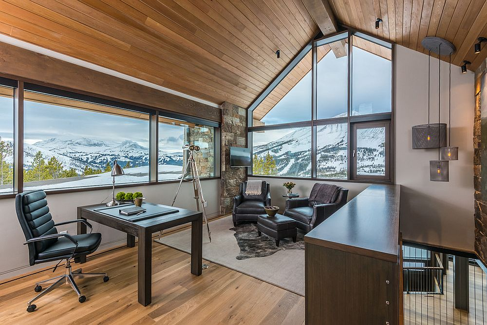 Breathtaking mountain views steal the spotlight here