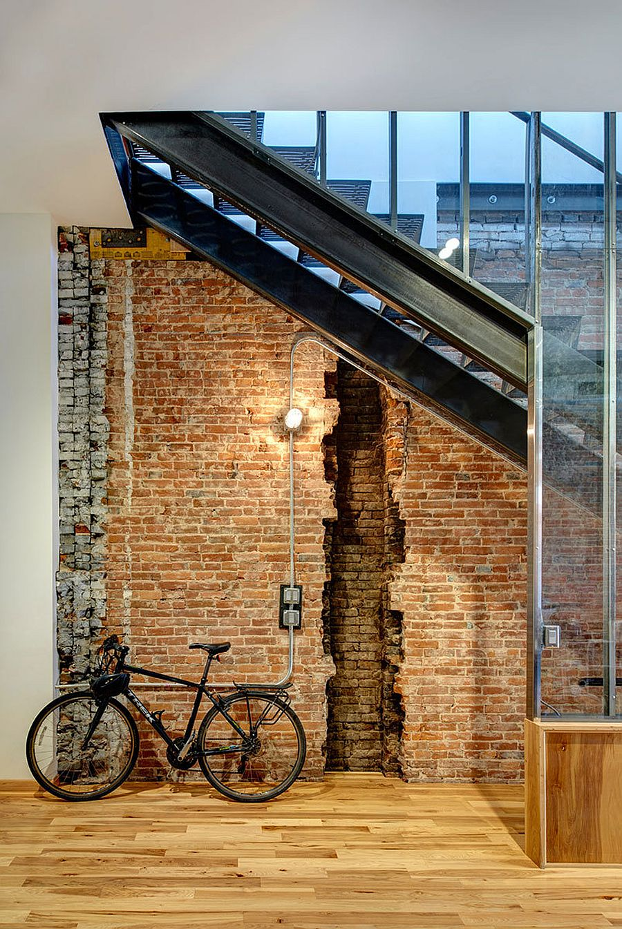 Century-old commercial building turned into modern commercial and office space