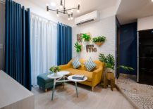 Cheerful-blend-of-blue-and-yellow-along-with-white-in-the-small-apartment-living-room-217x155