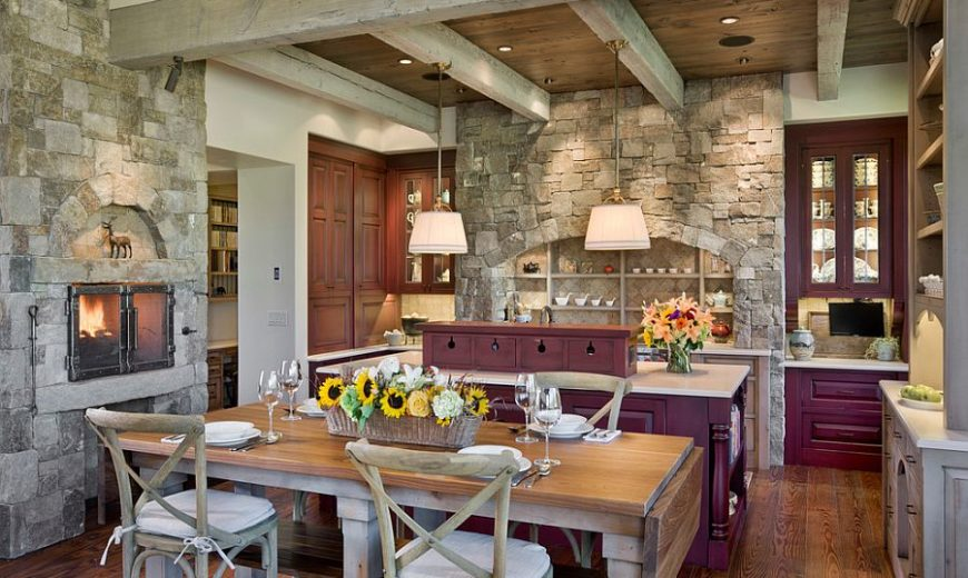 Stoic and Trendy: How to Bring Stone Walls Indoors with Modernity!