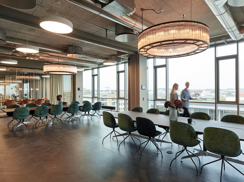Contemporary Lundgrens office in Copenhagen