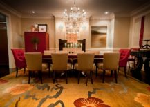 Contemporary-Mediterranean-dining-room-in-red-and-gold-217x155