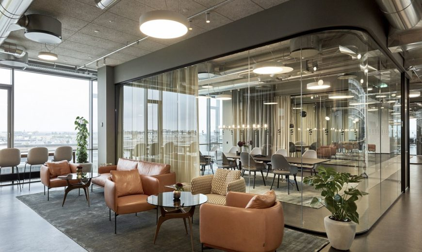Warm Ambiance Meets Modern Sophistication inside this Copenhagen Law Firm