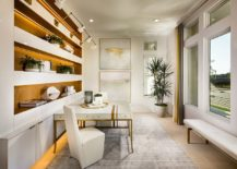 Fabulous-contemporary-home-office-in-white-with-warm-golden-lighting-217x155
