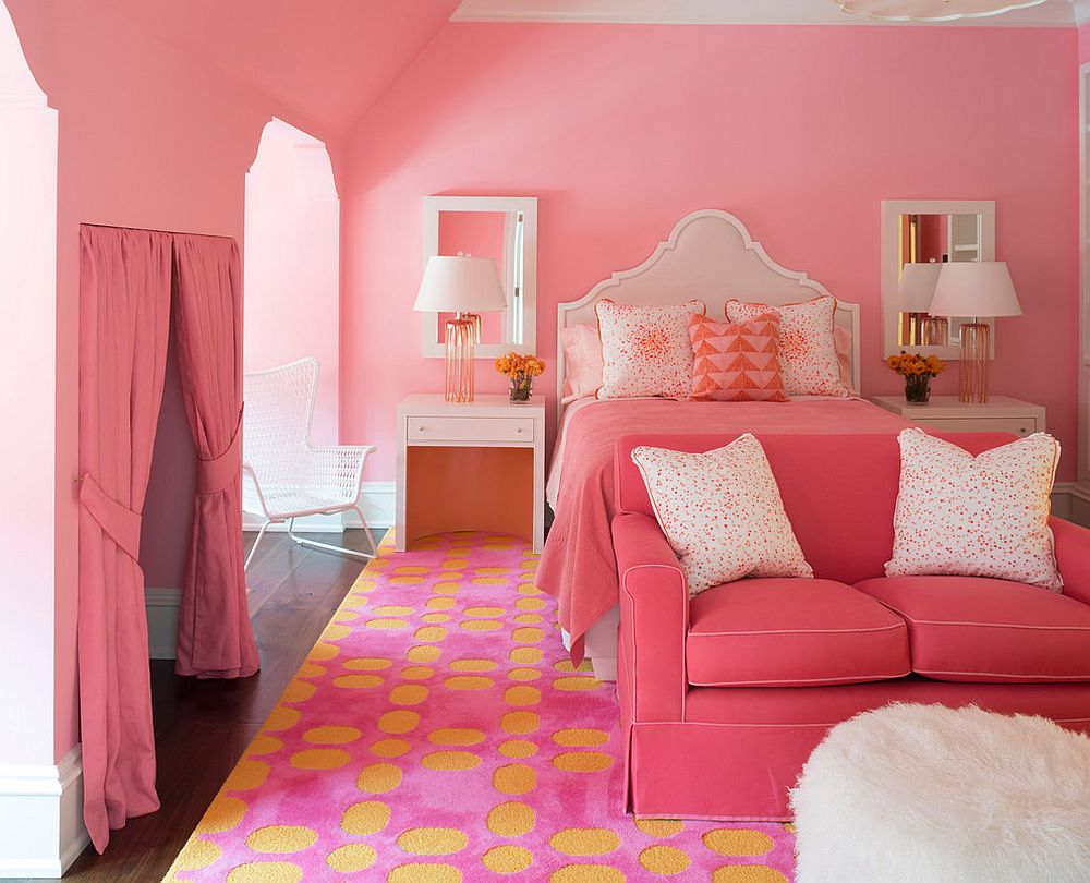 30 gorgeous photos and ideas showcasing colors that go 16698 | finding the right style for pink and yellow bedroom