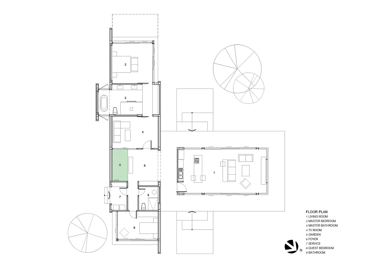 Floor plan of Maxime Residence