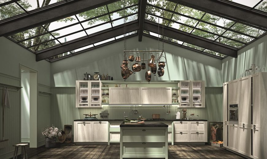 Hera: Gorgeous English Country Style Kitchen with Scandinavian and Modern Flavor