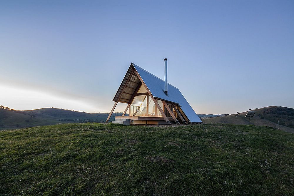 JR's Hut in Kimo Estate in New South Wales, Australia