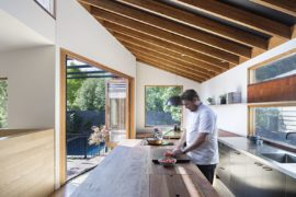 Designed for a Masterchef: Restored Victorian Weatherboard House